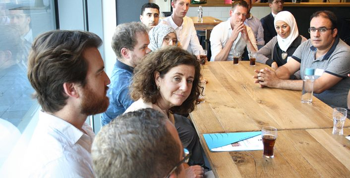 Minister Ingrid van Engelshoven in Het 7de